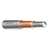 Tin Plated copper cover steel wire